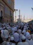 After Dhuhr Prayers, in the Streets of Mecca, Outside of the Masjid