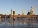 Masjid An-Nabawi at Sunrise, Medina