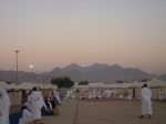 The Grounds of Arafah During Sunrise